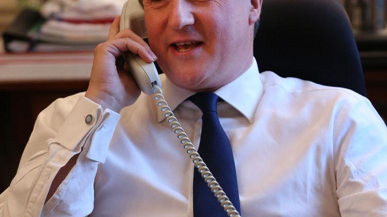 Le Premier ministre britannique,David Cameron, le 8 novembre 2012. (PETER MACDIARMID / AFP)
