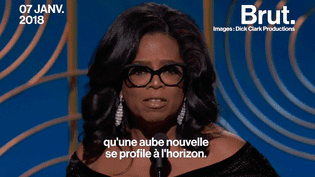 Le discours poignant d'Oprah Winfrey aux Golden Globes (BRUT)