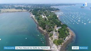 Le parc naturel du Golfe du Morbihan (CAPTURE ECRAN FRANCE 2)