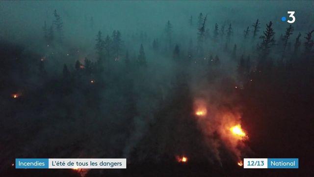 Incendies : l'été de tous les dangers, de la Sibérie au Liban