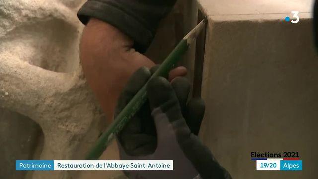 Restauration de l'Abbaye Saint-Antoine en Isère