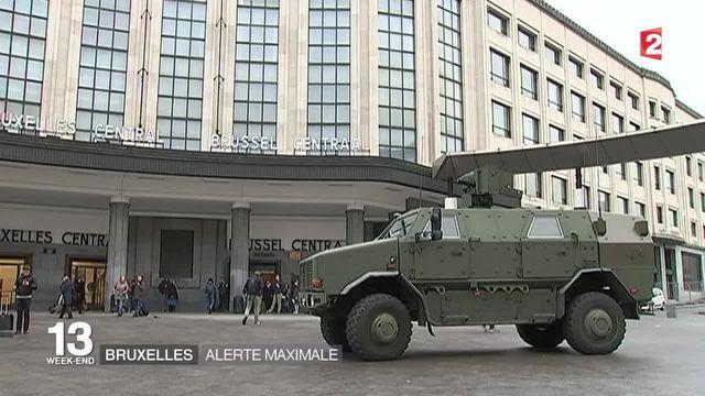 Bruxelles sous la menace terroriste