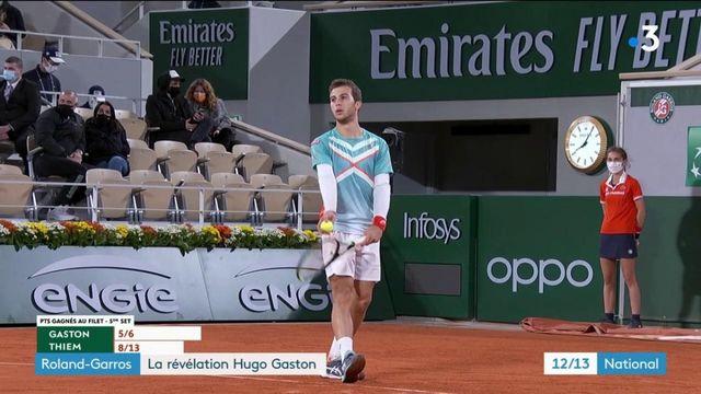 Roland-Garros : Hugo Gaston et Fiona Ferro, les deux révélations du tennis français