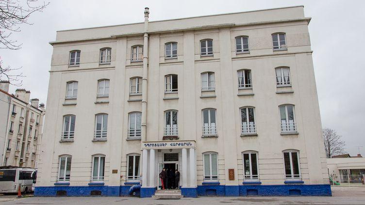 L'école franco-arménienne Tebrotzassère du Raincy (Seine-Saint-Denis), le 3 avril 2015. (THOMAS BAÏETTO / FRANCETV INFO)