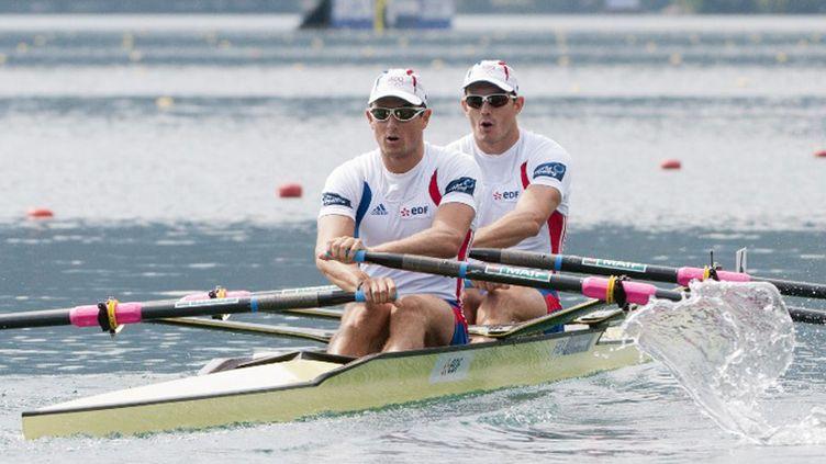 Julien Bahain et Cédric Berrest