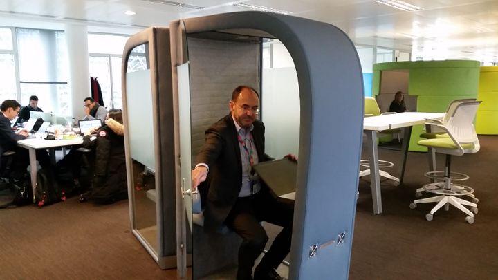Marc Thiollier, secrétaire général d'Accenture. (Laetitia Saavedra / RADIO FRANCE)