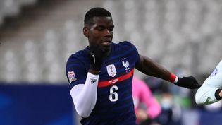 Le milieu de terrain de l'équipe de France Paul Pogba (FRANCK FIFE / AFP)