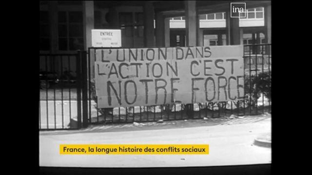 La longue histoire des conflits sociaux en France