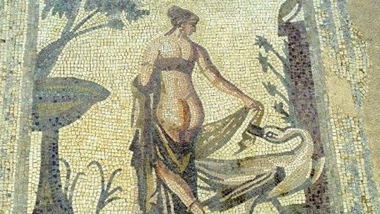 Mosaïque d'Aphrodite, à Paphos (Chypre). (AFP/MORANDI Bruno / hemis.fr)