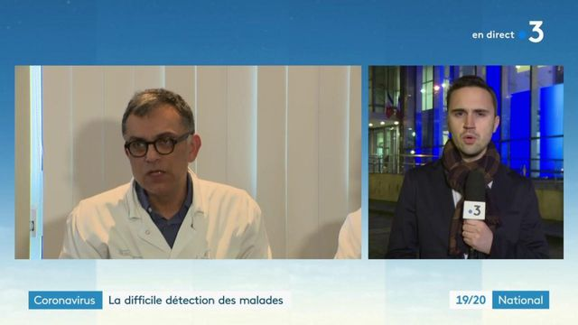 Coronavirus : un homme âgé de 80 ans dans un état grave en France