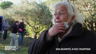 Envoyé spécial. Solidarité avec Martine (ENVOYÉ SPÉCIAL  / FRANCE 2)