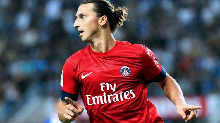 Zlatan Ibrahimovic et le PSG, symboles de la domination des gros clubs,  (PASCAL POCHARD CASABIANCA / AFP)