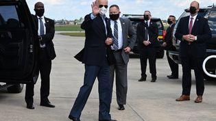 Joe Biden, dans le Delaware, le 2 octobre 2020. (JIM WATSON / AFP)