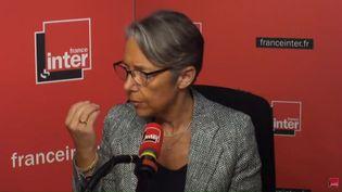 Elisabeth Borne le 15 mai 2018 sur France Inter. (FRANCE INTER / RADIO FRANCE)