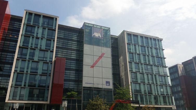 L'immeuble Axa à Nanterre (Hauts-de-Seine). Photo d'illustration. (ANNE BRUNEL / RADIO FRANCE)
