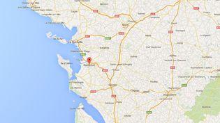 L'épicentre du séisme, ressenti le 28 avril 2016, est situé autour de Rochefort (Charente-Maritime). (google maps)