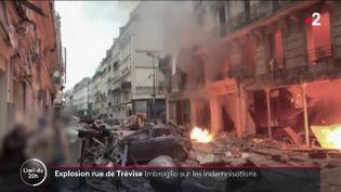 Explosion rue de Trévise, 12 janvier 2019 (L'OEIL DU 20 HEURES / FRANCE 2)
