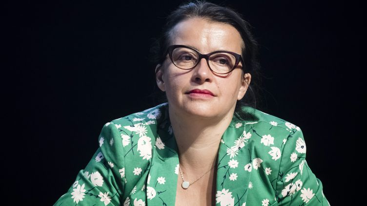 Cécile Duflot, lors desUniversités d'été de l'économie de demain (3 septembre 2019). (VINCENT ISORE / MAXPPP)