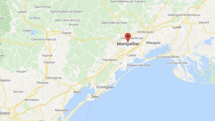 Le conducteur du scooter a été interpellé à Montpellier samedi matin. (GOOGLE MAPS)