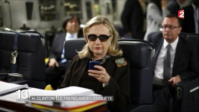 Emails d'Hillary Clinton : le FBI relance l'enquête