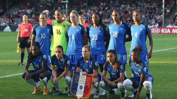 L'équipe de France de football féminin lors de l'Euro 2017/ (JEAN CATUFFE / JEAN CATUFFE)