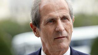 Hubert Falco, maire de Toulon et président de la Métropole Toulon-Provence-Méditerranée et ancien secrétaire à la Défense et aux Anciens combattants. (THOMAS SAMSON / AFP)