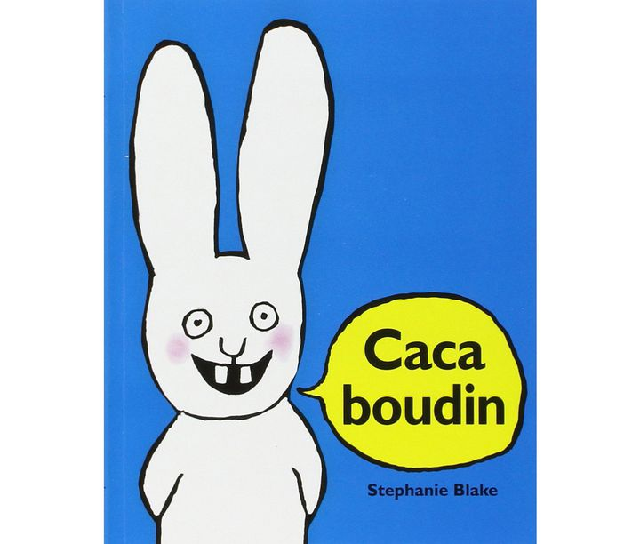 """Caca boudin""  (Stephanie Blake / L'école des loisirs)"