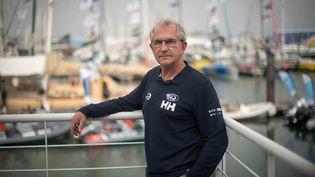 Jacques Caraës, directeur de course du 9e Vendée Globe, le 7 novembre 2020 aux Sables-d'Olonne (Vendée). (LOIC VENANCE / AFP)