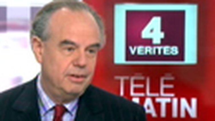 """Frédéric Mitterrand aux """"4 Vérités"""", le 03 décembre 2009 (France 2)"""