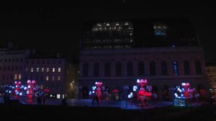Lyon : féerie assurée avec la fête des Lumières (CAPTURE D'ÉCRAN FRANCE 3)