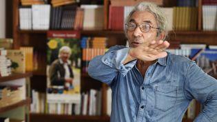 """Boualem Sansal avec """"2084"""" (Gallimard) figure déjà dans les listes des prix Goncourt, Renaudot, Medicis et Femina  (THOMAS SAMSON / AFP)"""