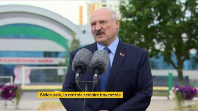 Biélorussie : la contestation se poursuit, la Russie condamne les sanctions