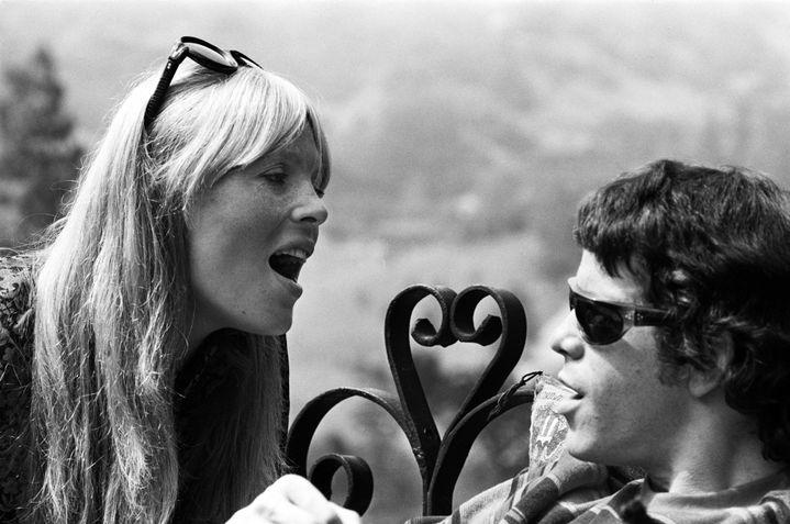 Nico et Lou Reed au Castle à Los Angeles en 1966.  (Lisa Law)