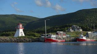 Port de pêche à Cap-Breton au Canada, le 1er janvier 2012. (WOLFGANG KAEHLER / LIGHTROCKET)