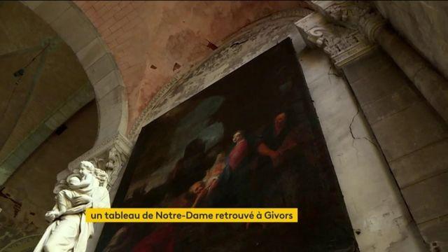 Givors : le tableau de Notre-Dame retrouvé