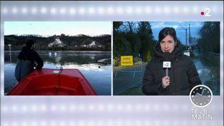 Claire Colnet, envoyée spéciale en Seine-Maritime. (FRANCE 2)