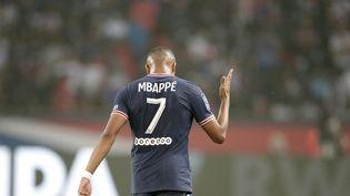 Kylian Mbappé n'a pas marqué mais a réalisé une grosse performance face à Strasbourg. (GEOFFROY VAN DER HASSELT / AFP)