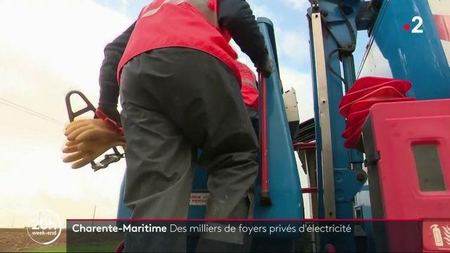 Tempête Amélie : plusieurs milliers de foyers toujours privés d'électricité