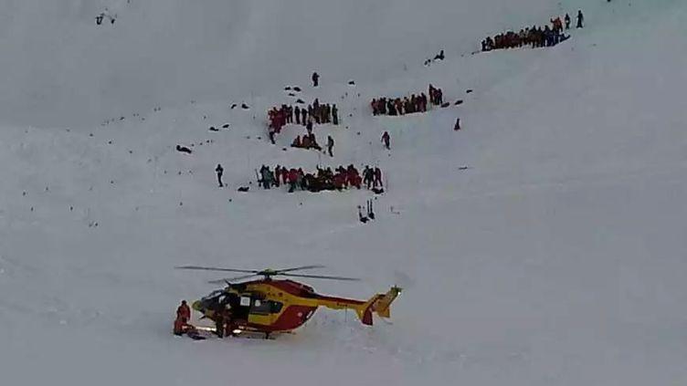 (L'avalanche aux Deux Alpes. © Radio France/Gérard Fourgeaud)