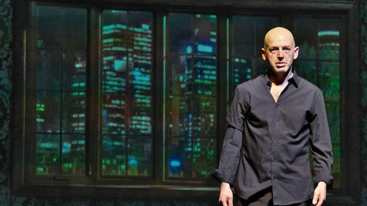 """Fabio Alessandrini, auteur, interprète et metteur en scène de """"L'Equation""""dans le Off d'Avignon du 5 au 23 juillet à l'Espace Alya à 20h35. (Roland Baduel)"""