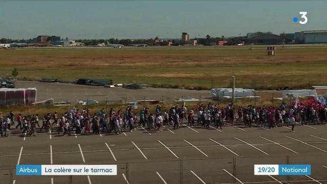 Airbus : la colère sur le tarmac