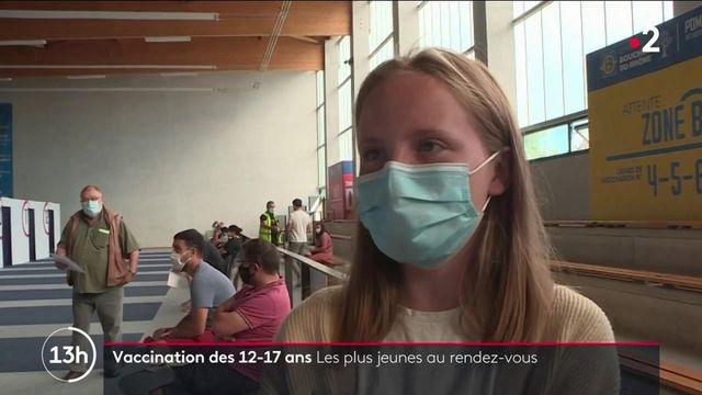 Vaccin contre le Covid-19 : démarrage de la vaccination des 12-17 ans