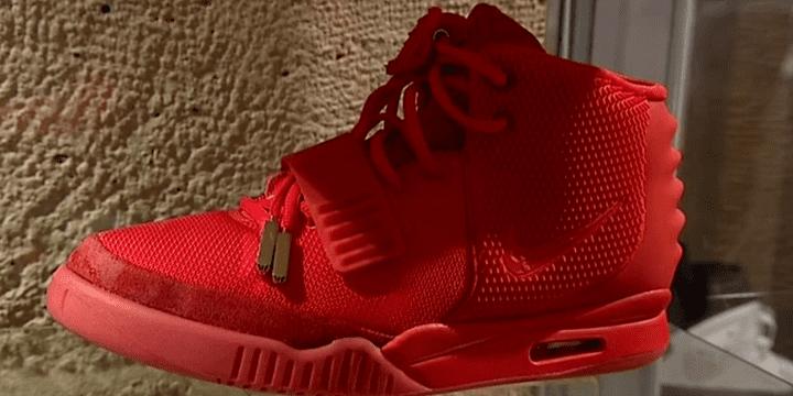 La Nike Yeezy dessinée par Kanye West.  (France 3)