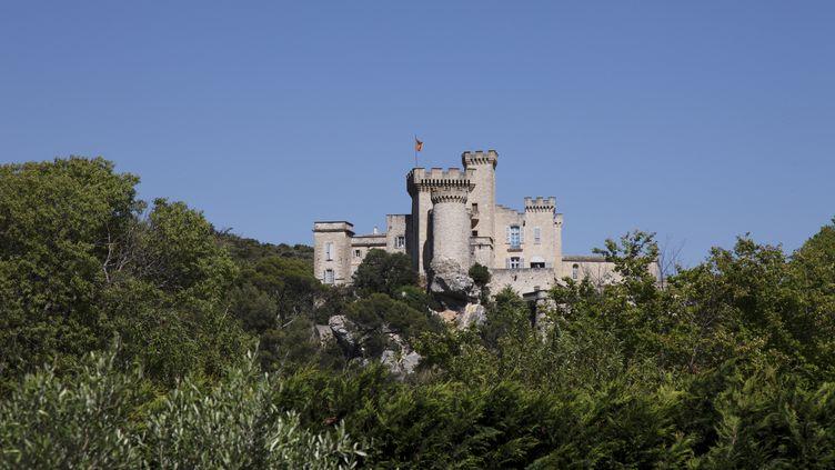 Le château médiéval de La Barben dans le vallon de Maurel (Bouches-du-Rhône). (GOTIN MICHEL / HEMIS.FR / AFP)