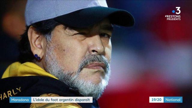 Football : Diego Maradona est décédé