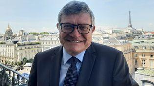 Jean-Luc Reitzer, député du Haut-Rhin, qui a été atteint par le Covid-19. (SEBASTIEN BAER / RADIO FRANCE)