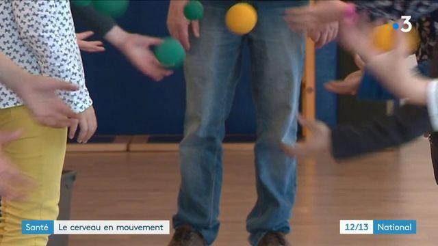 Santé : le Brain Ball, exercer son cerveau avec des balles