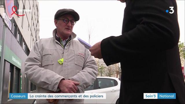 """""""Gilets jaunes"""" : les commerçants et les policiers craignent les casseurs"""