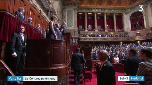 Un Congrès de Versailles polémique