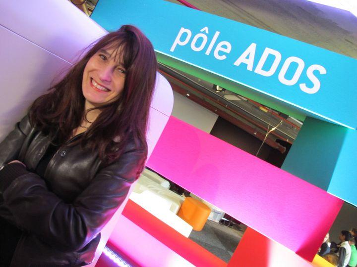 """Claudine Desmarteau, auteur de """"Troubles"""" (Albin Michel)  (Laurence Houot / Culturebox)"""